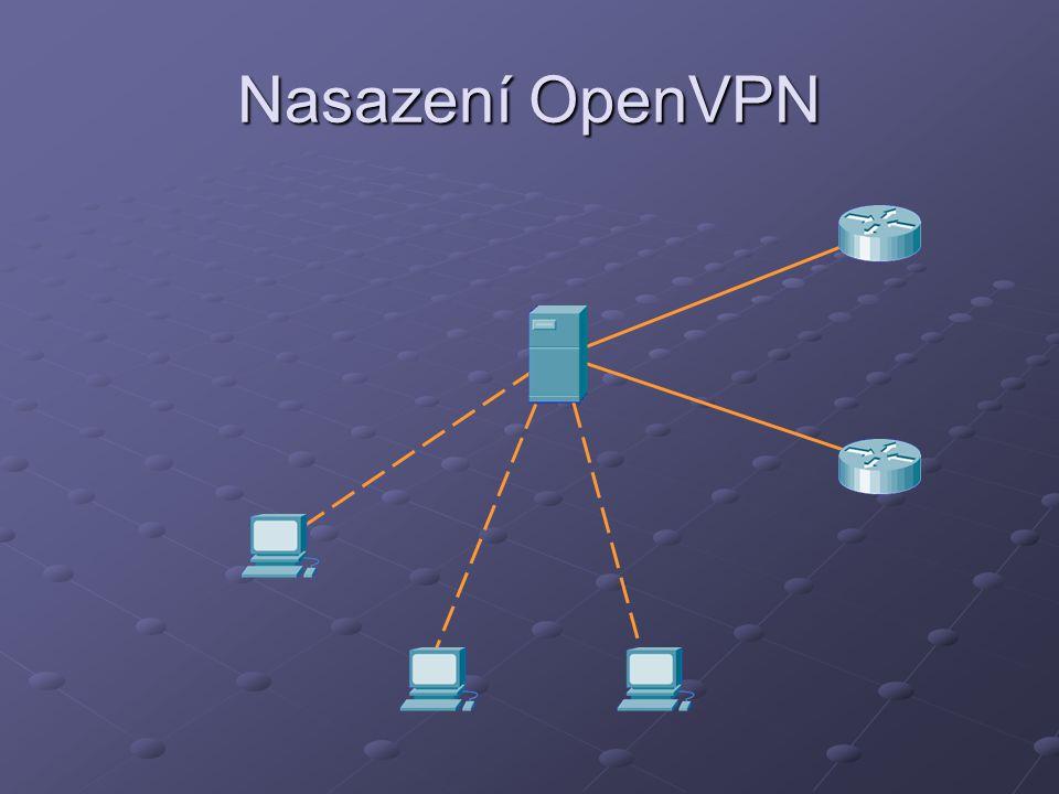Nasazení OpenVPN