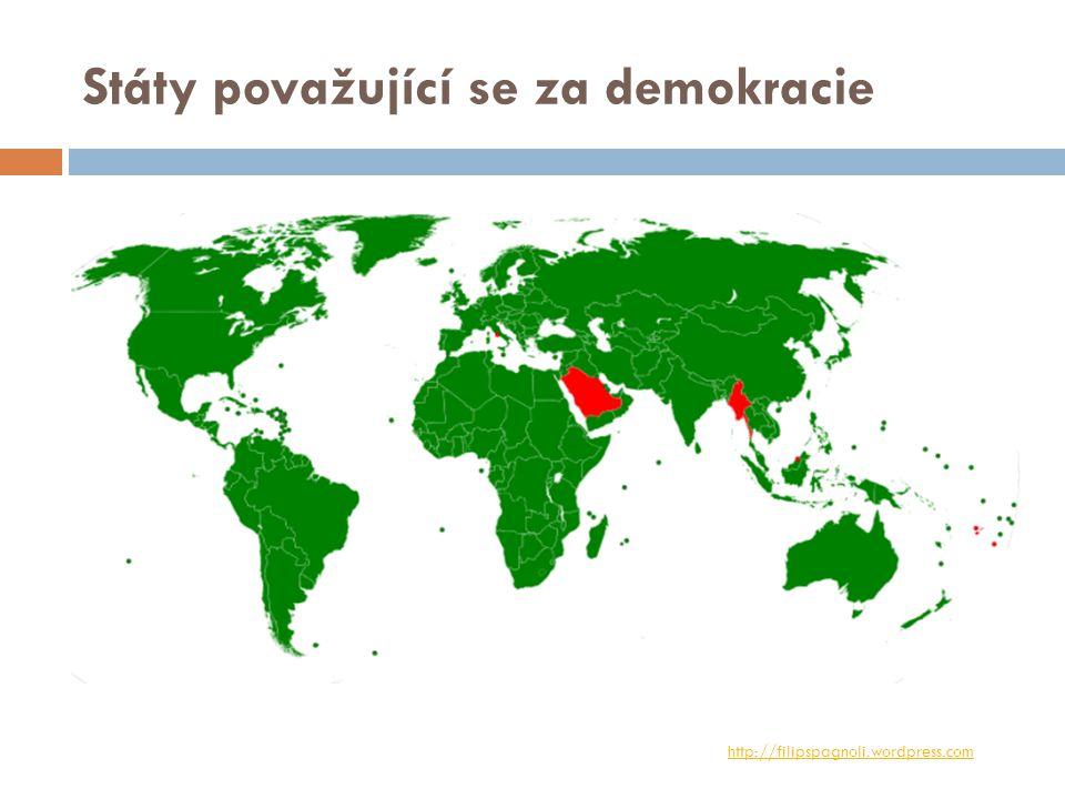 Státy považující se za demokracie