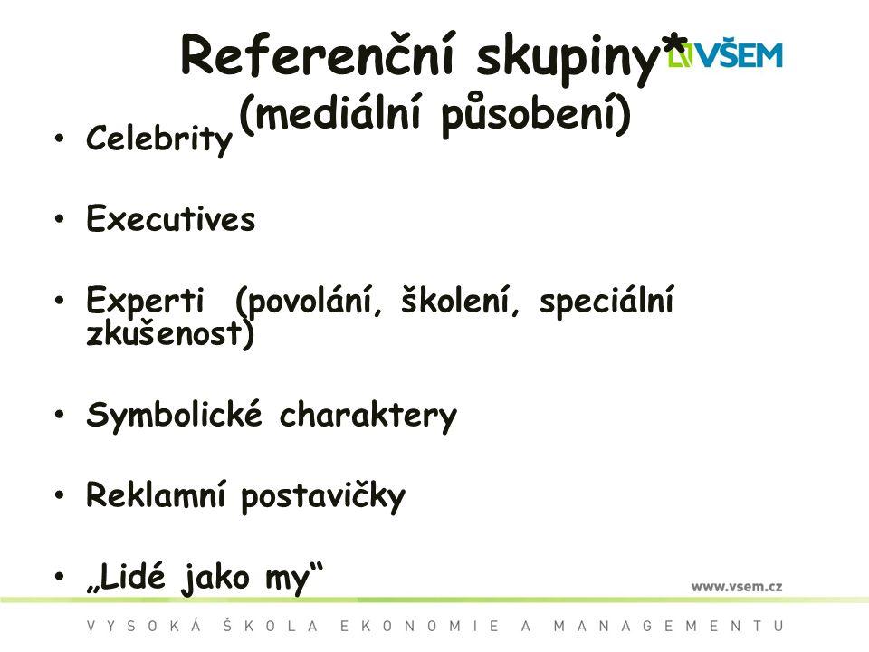 Referenční skupiny* (mediální působení)