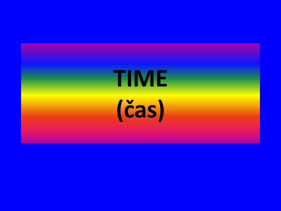 TIME (čas)