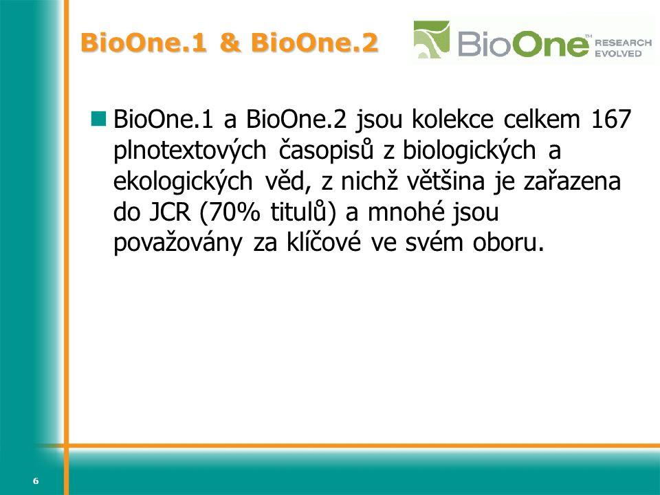BioOne.1 & BioOne.2