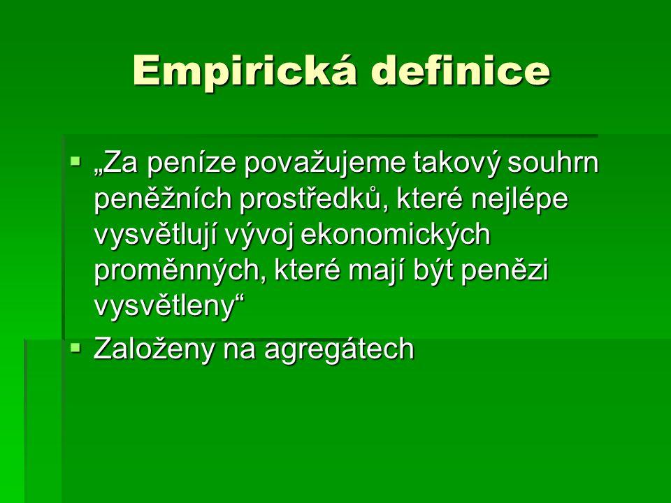 Empirická definice