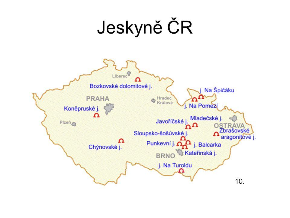Jeskyně ČR 10.