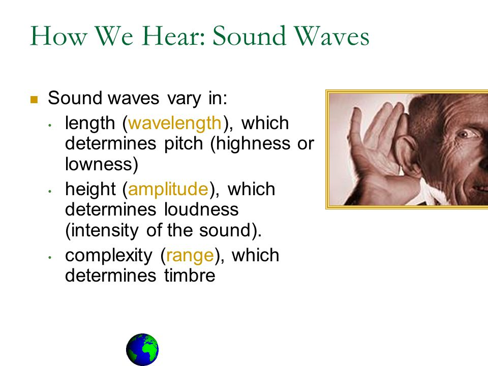 How We Hear: Sound Waves