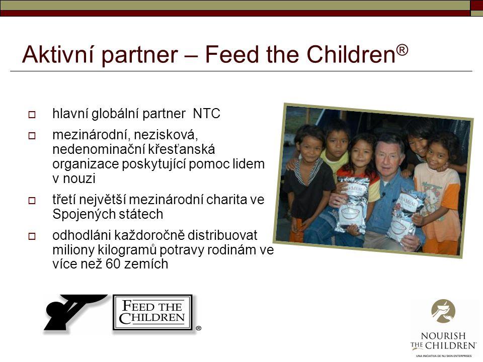 Aktivní partner – Feed the Children®