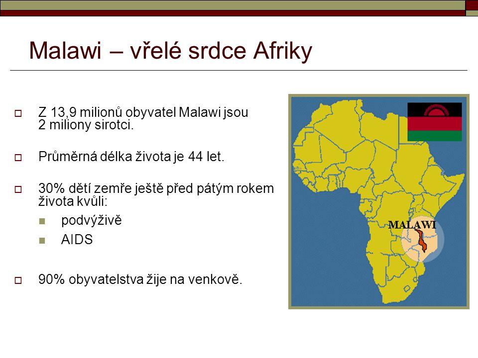 Malawi – vřelé srdce Afriky