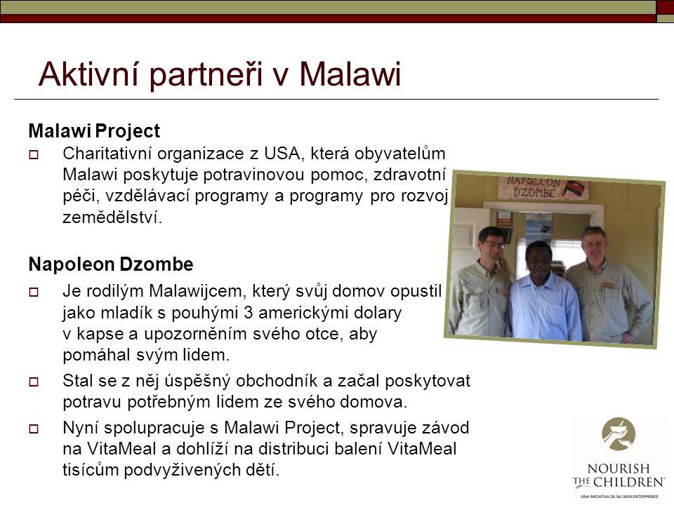 Aktivní partneři v Malawi