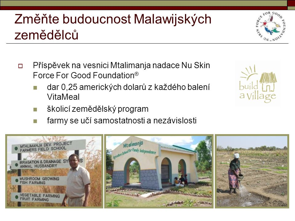 Změňte budoucnost Malawijských zemědělců