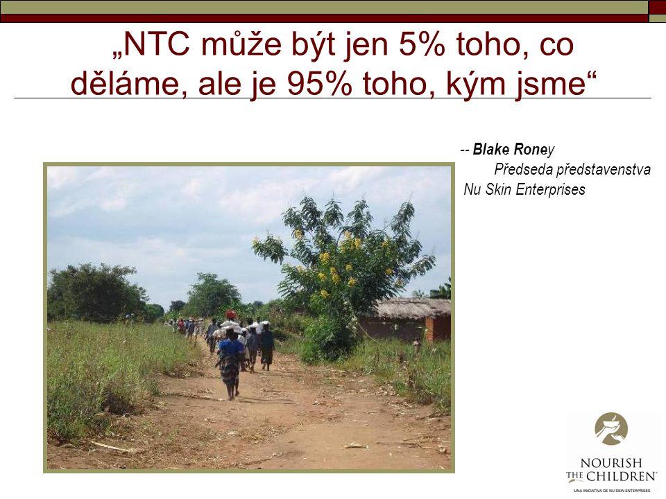 """""""NTC může být jen 5% toho, co děláme, ale je 95% toho, kým jsme"""