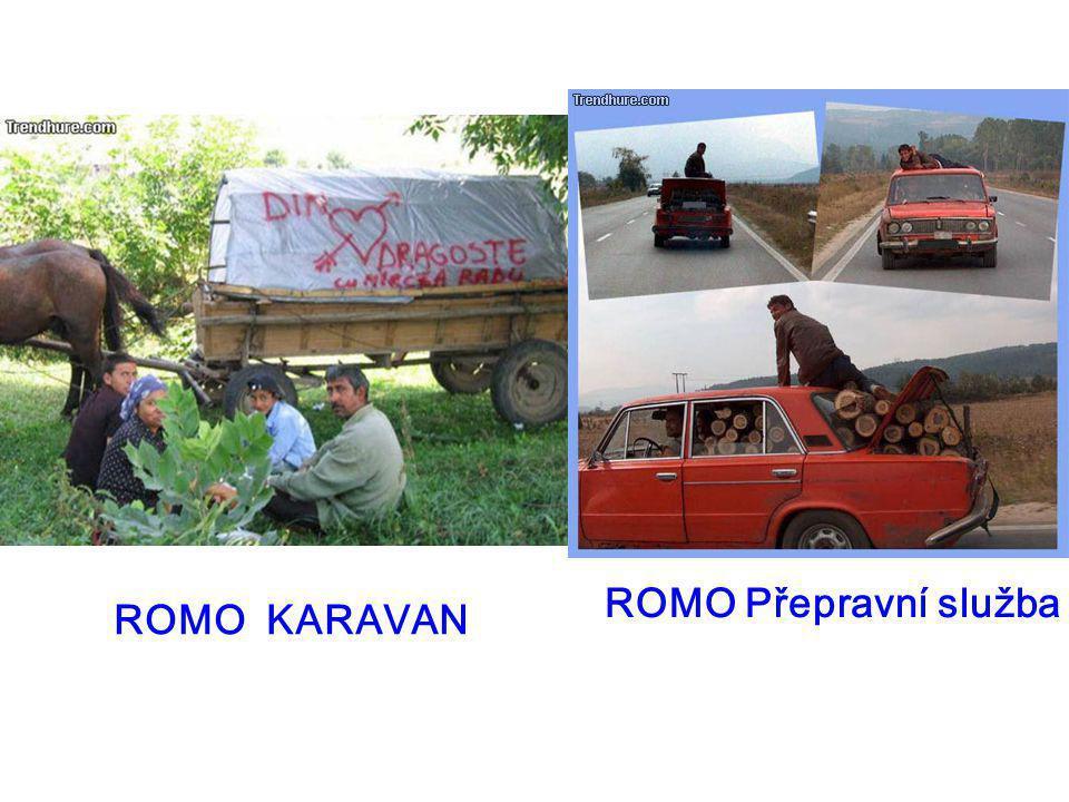 ROMO Přepravní služba ROMO KARAVAN