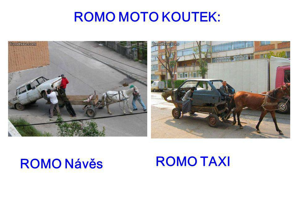 ROMO MOTO KOUTEK: ROMO TAXI ROMO Návěs