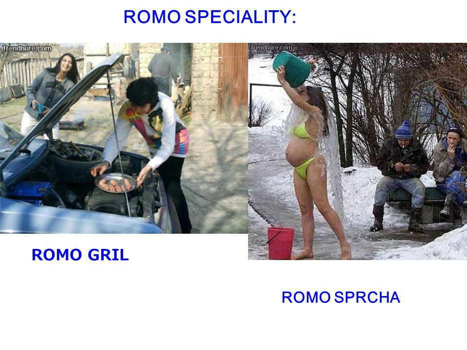 ROMO SPECIALITY: ROMO GRIL ROMO SPRCHA
