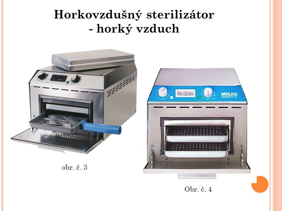 Horkovzdušný sterilizátor - horký vzduch