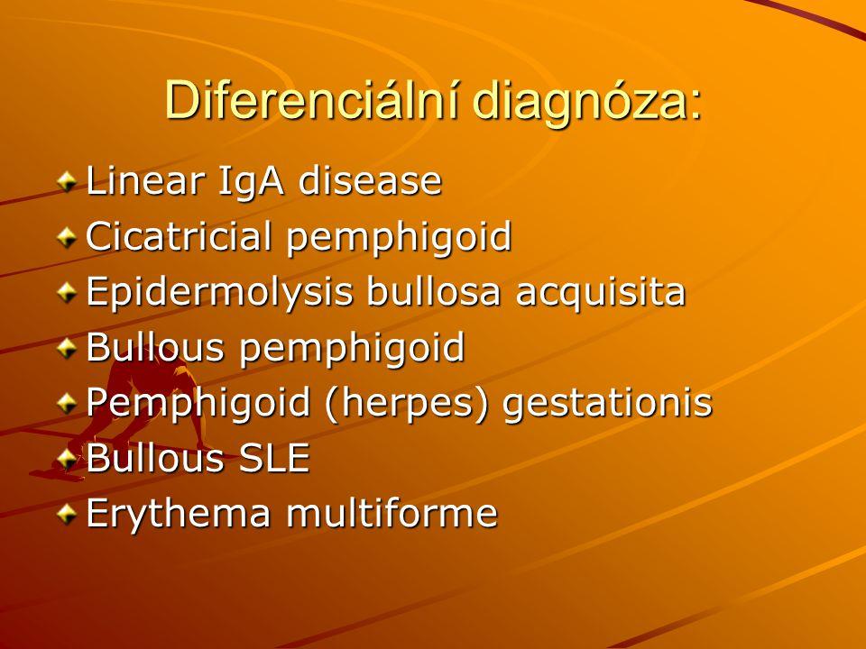 Diferenciální diagnóza: