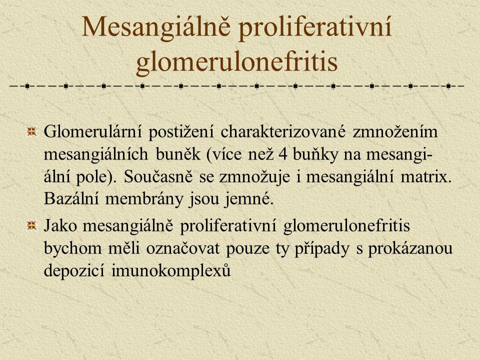 Mesangiálně proliferativní glomerulonefritis