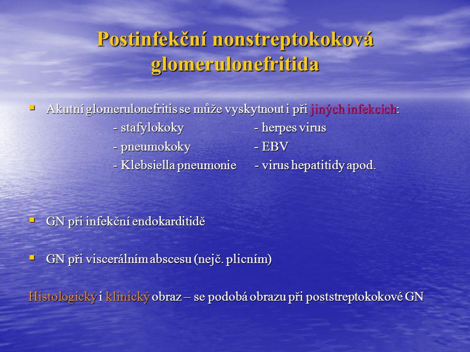 Postinfekční nonstreptokoková glomerulonefritida