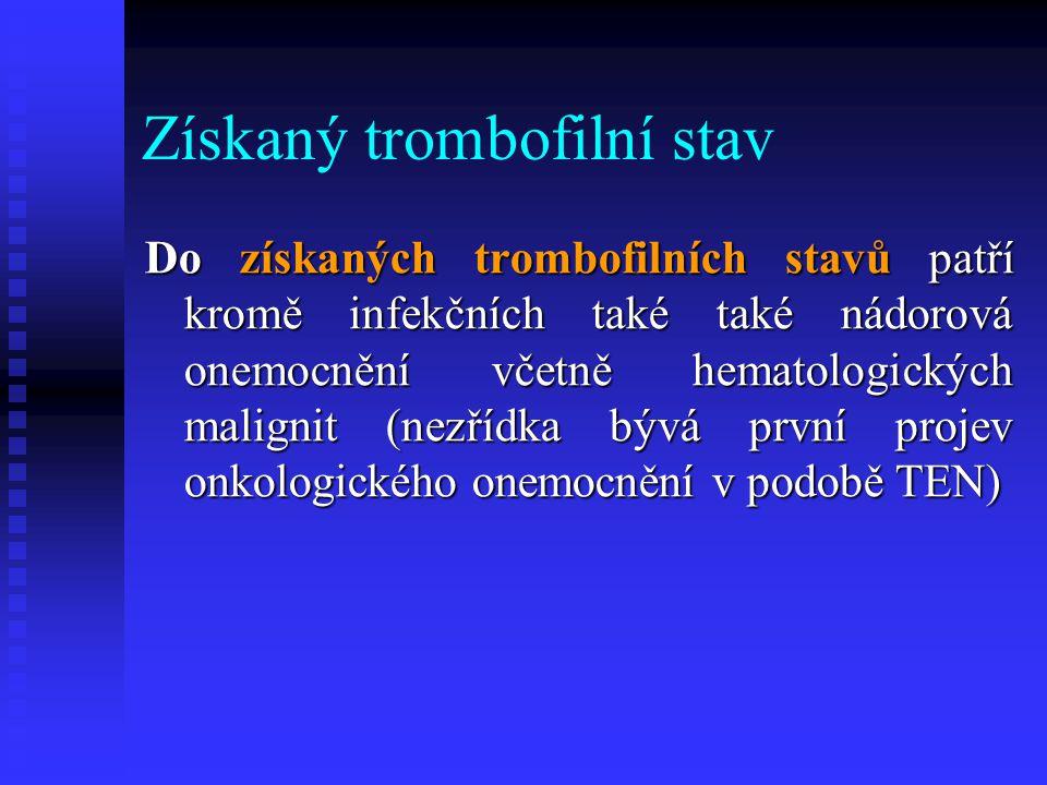 Získaný trombofilní stav
