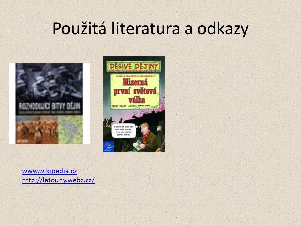 Použitá literatura a odkazy