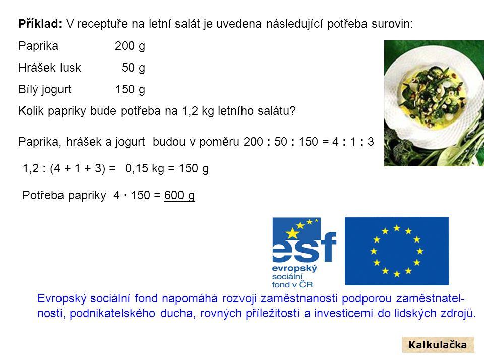 Kolik papriky bude potřeba na 1,2 kg letního salátu