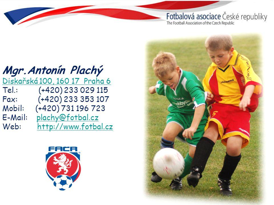 Mgr.Antonín Plachý Diskařská 100, 160 17 Praha 6 Tel.: (+420) 233 029 115.