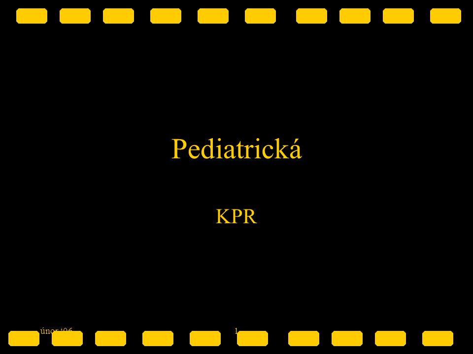 Pediatrická KPR únor '06 1