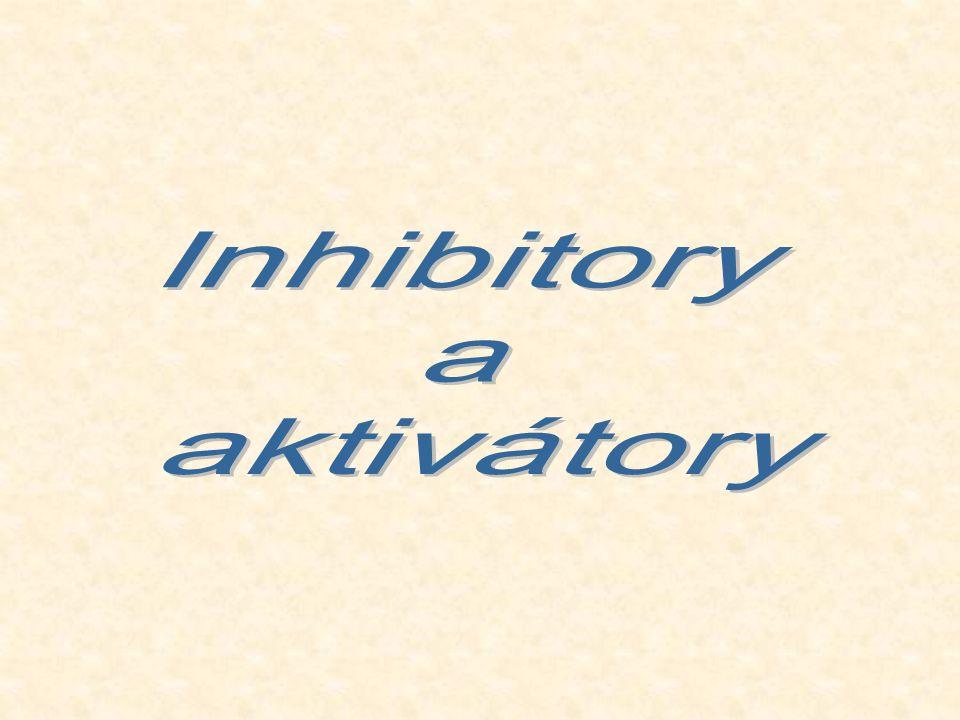 Inhibitory a aktivátory