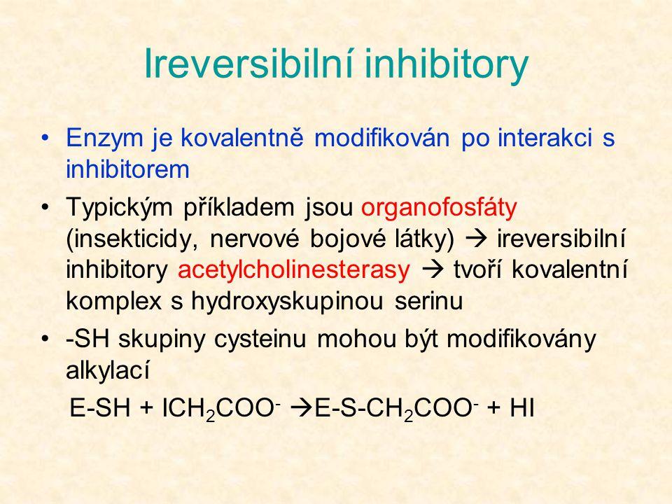 Ireversibilní inhibitory