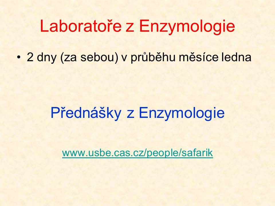 Laboratoře z Enzymologie