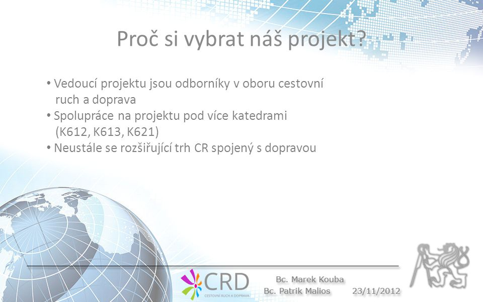 Proč si vybrat náš projekt