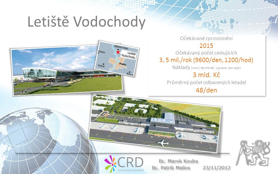 Letiště Vodochody 3 mld. Kč 48/den 2015