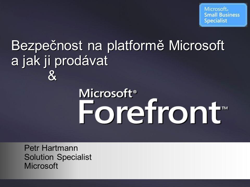 Bezpečnost na platformě Microsoft a jak ji prodávat &