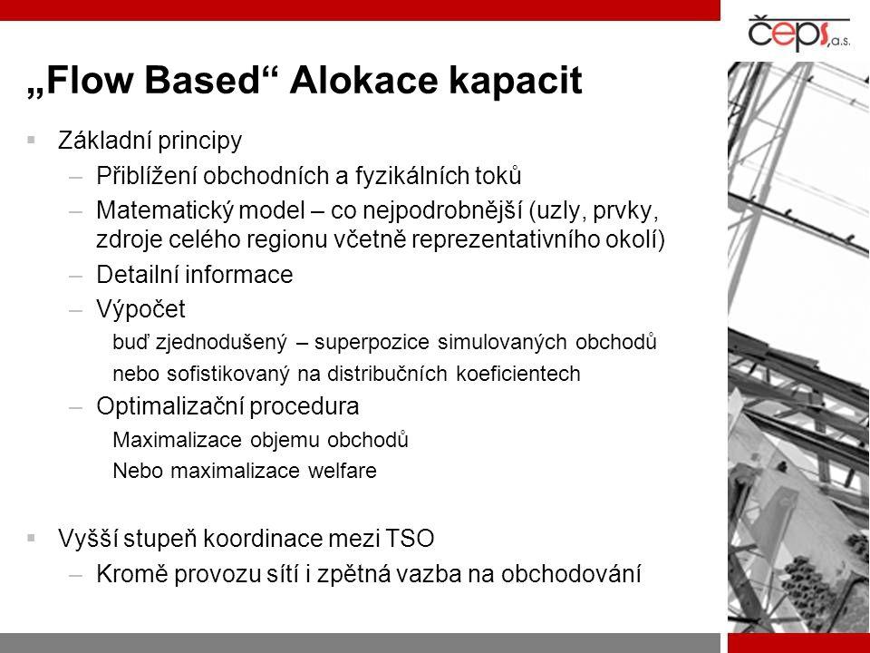 """""""Flow Based Alokace kapacit"""
