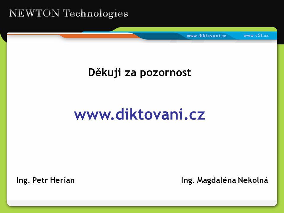 Ing. Petr Herian Ing. Magdaléna Nekolná