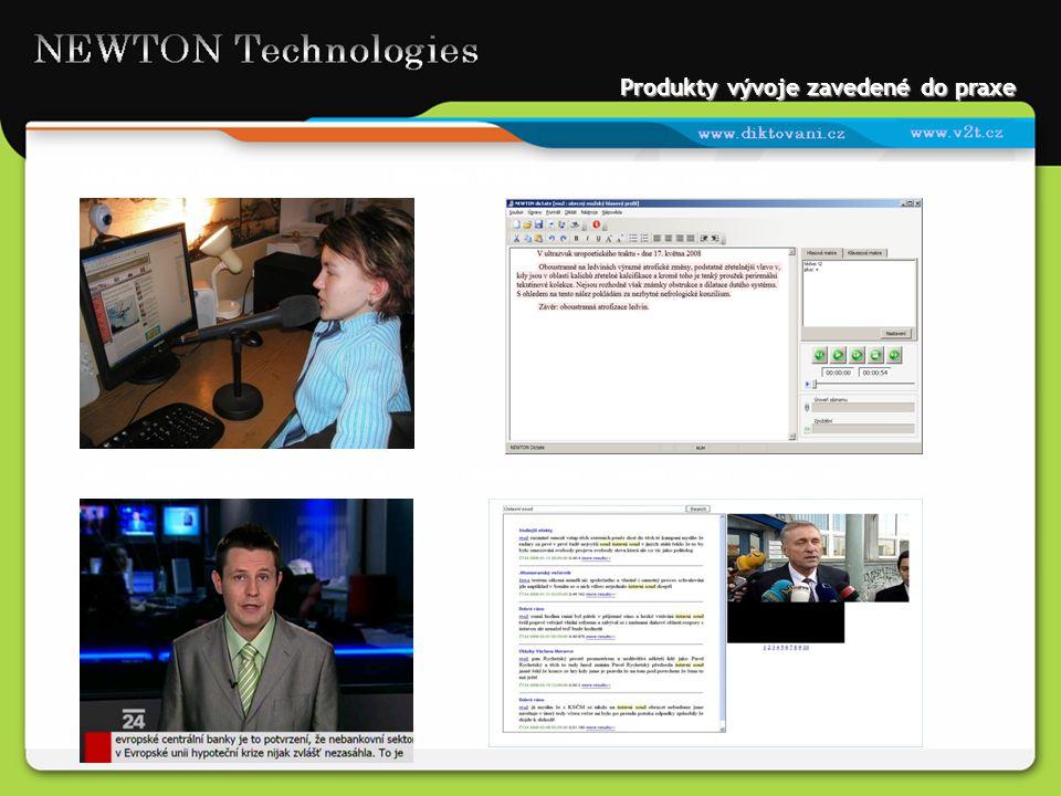 Produkty vývoje zavedené do praxe