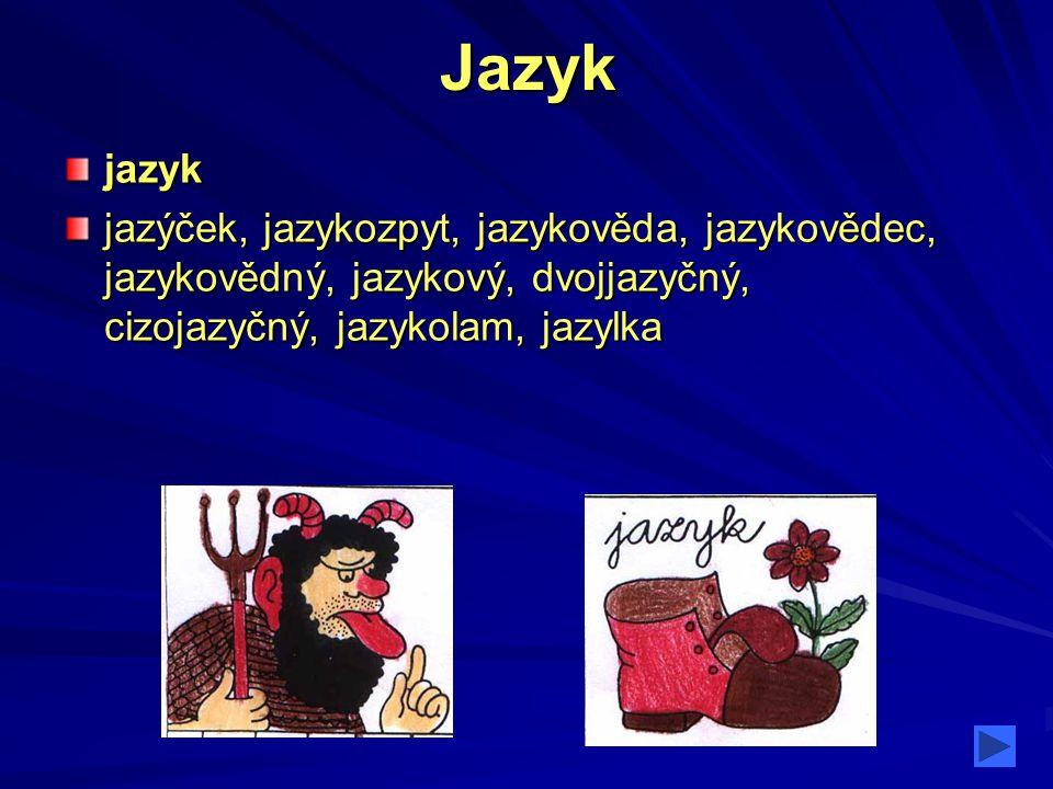 Jazyk jazyk.