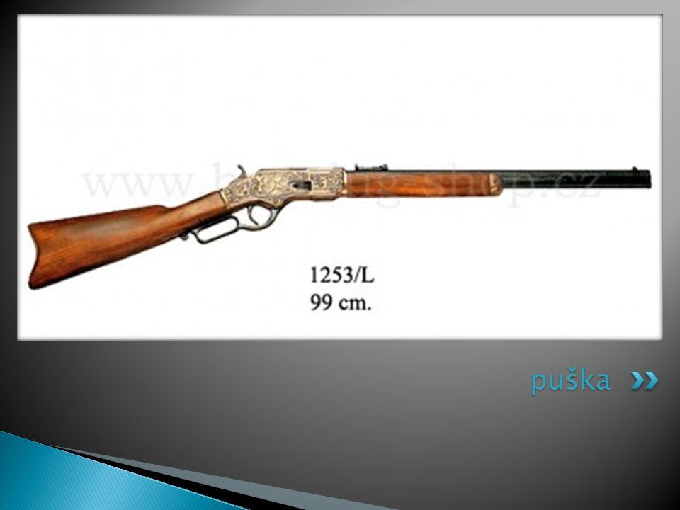 puška
