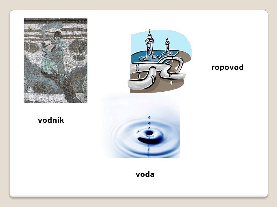 ropovod vodník voda