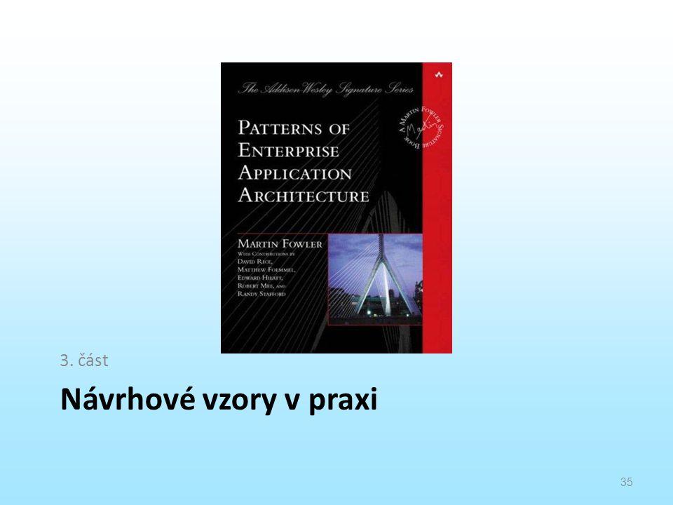3. část Návrhové vzory v praxi
