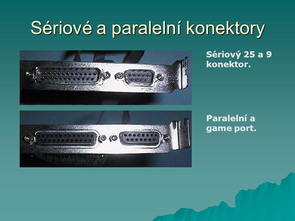 Sériové a paralelní konektory