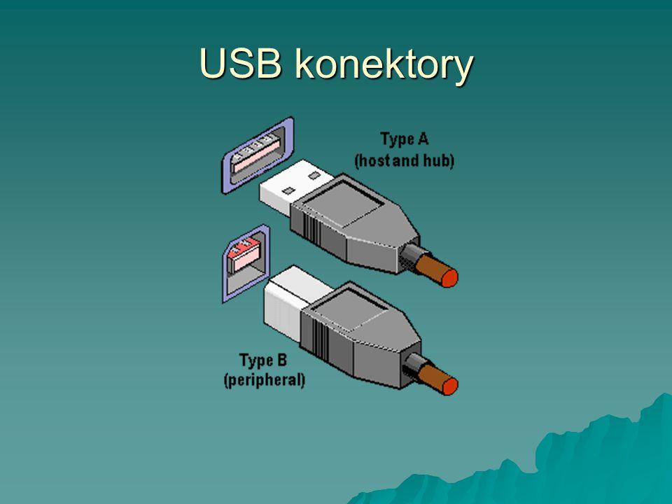 USB konektory