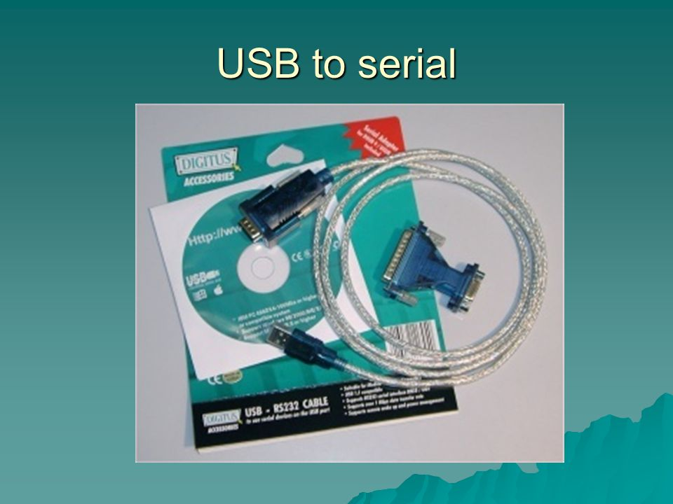 USB to serial