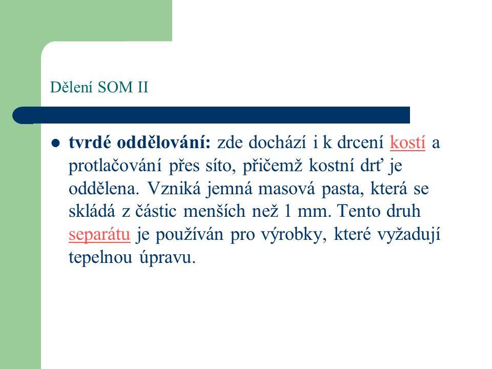 Dělení SOM II
