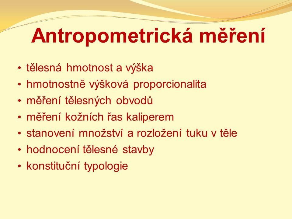 Antropometrická měření