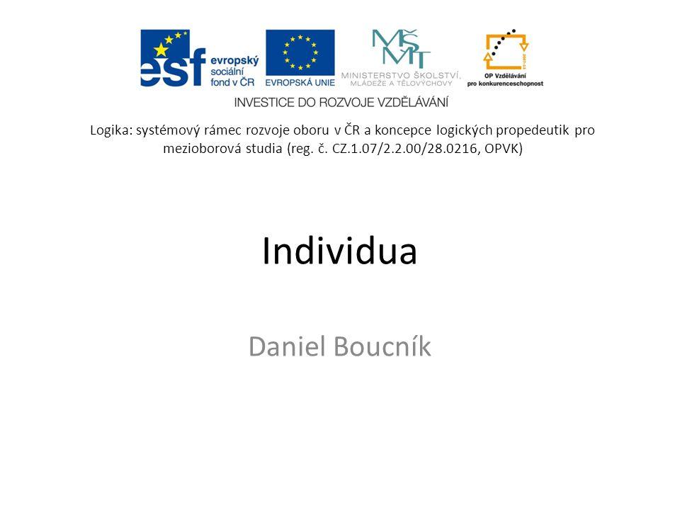 Individua Daniel Boucník