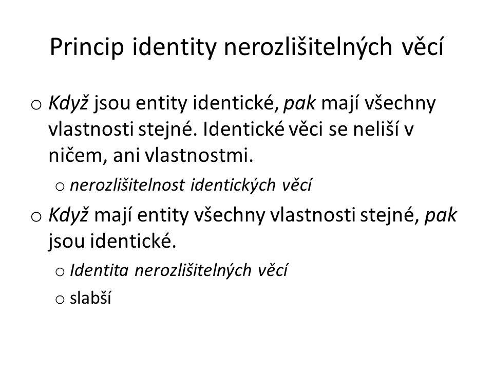 Princip identity nerozlišitelných věcí