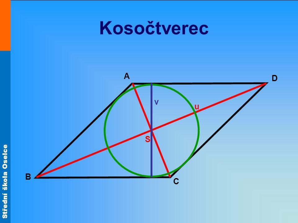 Kosočtverec A D v u S B C