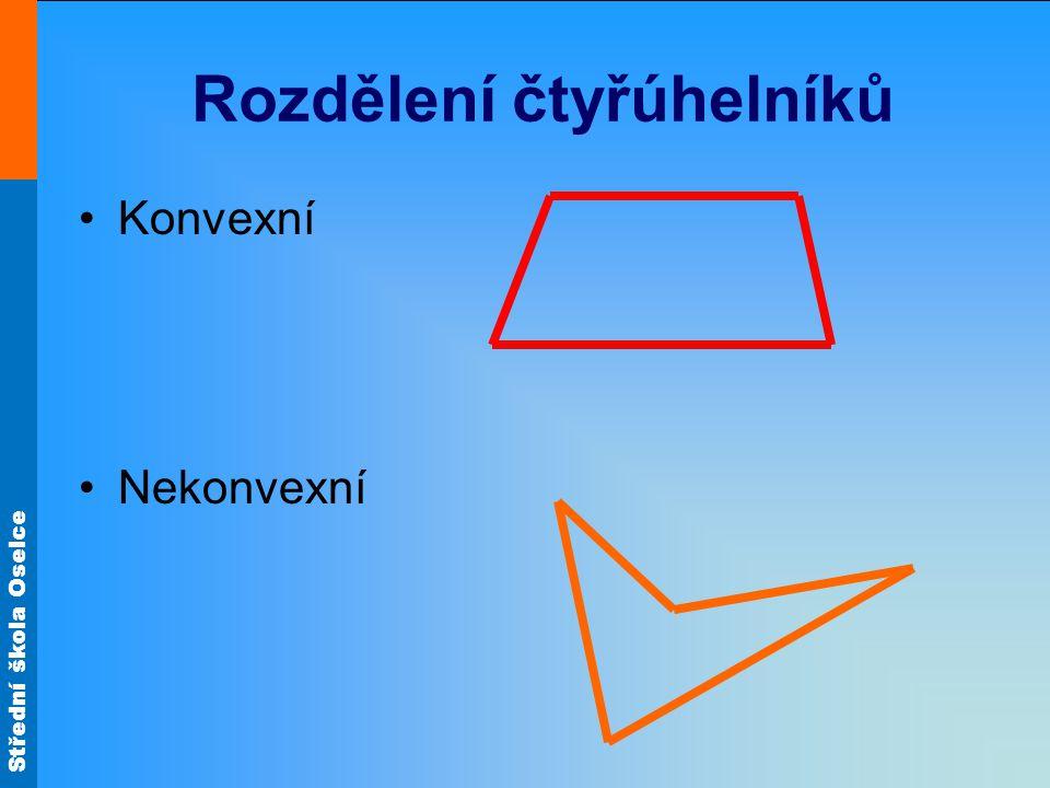 Rozdělení čtyřúhelníků