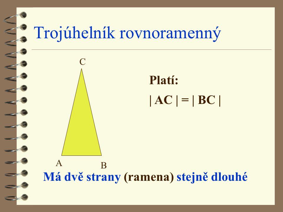 Trojúhelník rovnoramenný