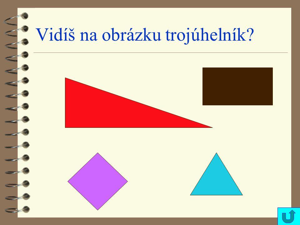 Vidíš na obrázku trojúhelník