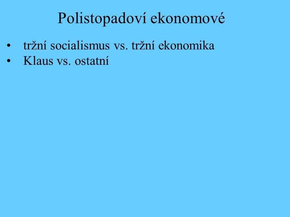 Polistopadoví ekonomové